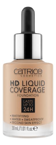 Купить Тональная основа для лица HD Liquid Coverage Foundation 30мл: 050 Rosy Ash, Catrice Cosmetics