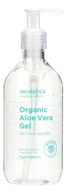 Купить Органический гель для тела с экстрактом алоэ 95% Organic Aloe Vera Gel: Гель 300мл, AROMATICA