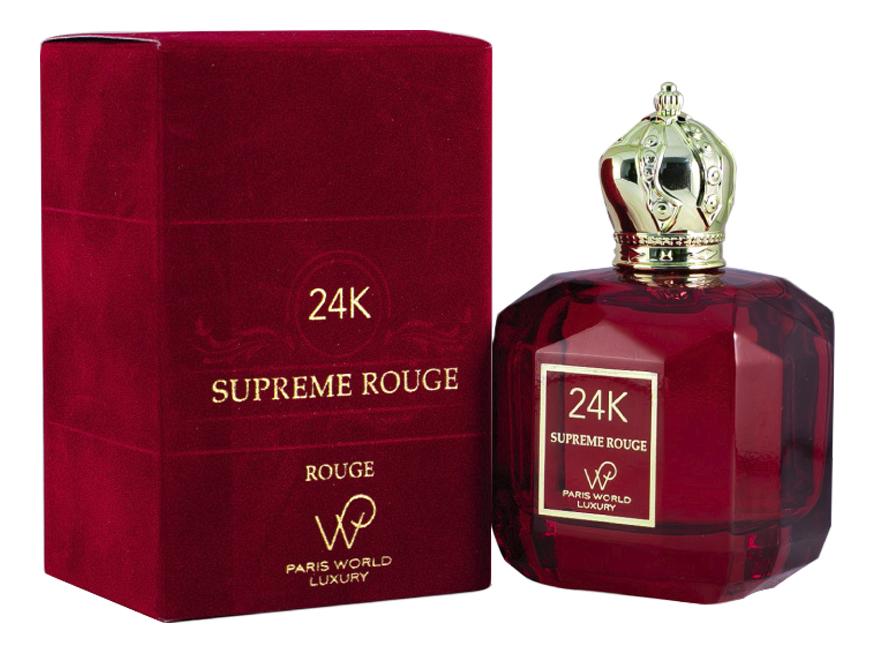 Купить 24K Supreme Rouge: парфюмерная вода 100мл, Paris World Luxury