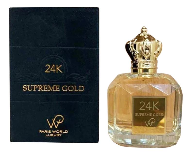 Paris World Luxury 24K Supreme Gold: парфюмерная вода 100мл