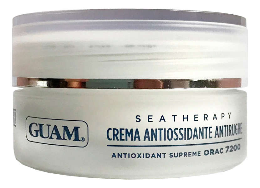 Купить Крем для лица с гиалуроновой кислотой Seatherapy Crema Antiossidante Antirughe 50мл, GUAM