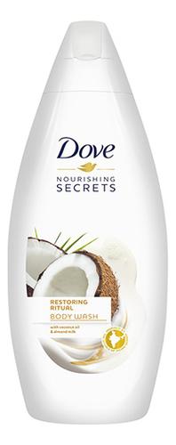 Восстанавливающий крем-гель для душа с кокосовым маслом Nourishing Secrets: Крем-гель 250мл