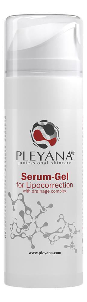 Купить Гель-сыворотка для липокоррекции с дренажным комплексом Serum-Gel For Lipocorrection 200мл, PLEYANA