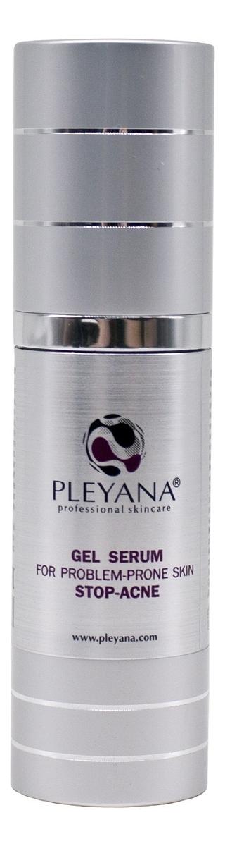 Купить Гель-сыворотка для проблемной кожи лица Gel Serum For Problem-Prone Skin Stop-Acne 30мл, PLEYANA