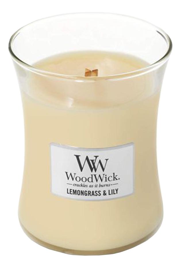 Фото - Ароматическая свеча Lemongrass & Lily: свеча 85г ароматическая свеча vanilla bean свеча 85г