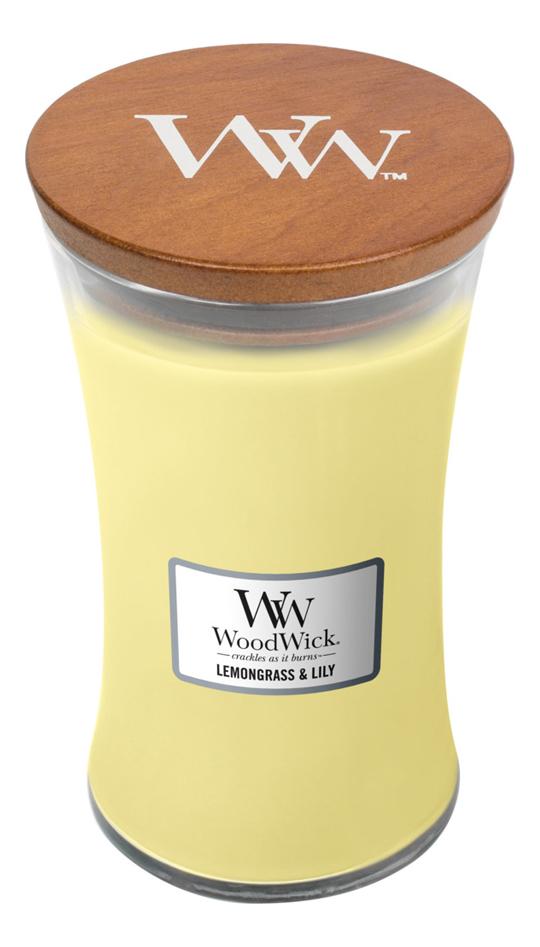 Фото - Ароматическая свеча Lemongrass & Lily: свеча 609,5г ароматическая свеча игристое вино свеча 70г