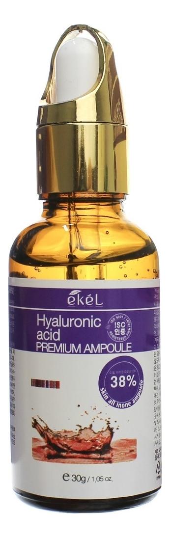 Купить Ампульная сыворотка с гиалуроновой кислотой Premium Ampoule Hyaluronic Acid 30г, Ekel