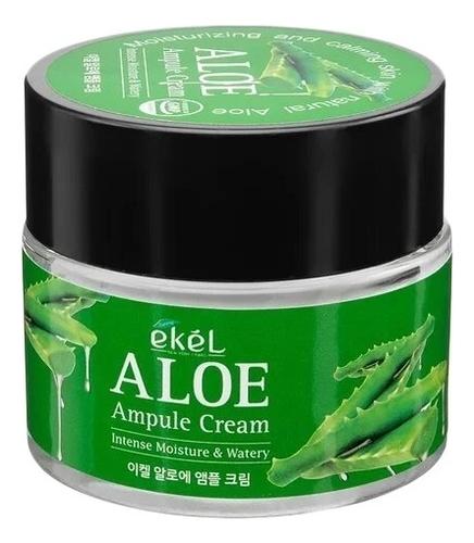 Купить Ампульный крем для лица с экстрактом алоэ вера Aloe Ampule Cream 70мл, Ekel