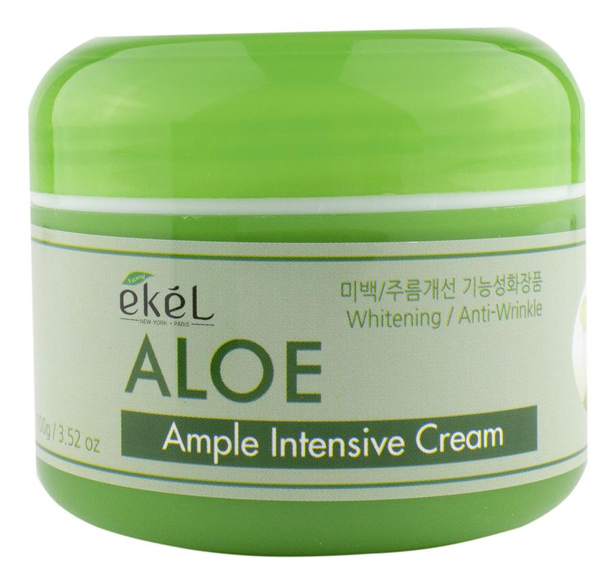 Купить Крем для лица с экстрактом алоэ вера Ample Intensive Cream Aloe 100г, Ekel