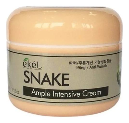 Купить Крем для лица с пептидом змеиного яда Ample Intensive Cream Snake 100г, Ekel