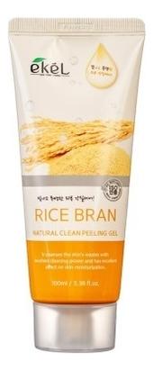 Пилинг-скатка для лица с экстрактом коричневого риса Rice Bran Natural Clean Peeling Gel: Пилинг-скатка 100мл недорого