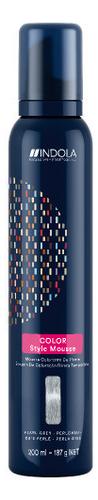 Оттеночный мусс с эффектом стайлинга Color Style Mousse 200мл: Pearl Gray