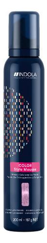 Оттеночный мусс с эффектом стайлинга Color Style Mousse 200мл: Delicate Lavender
