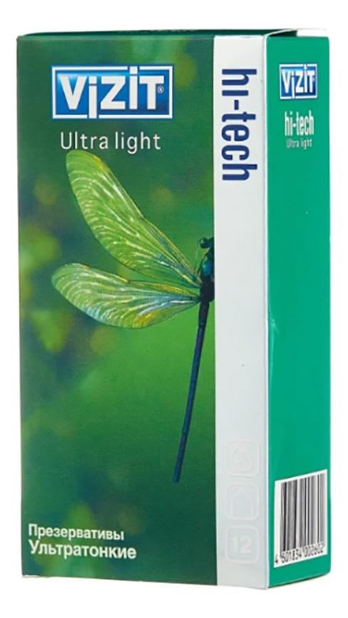Презервативы ультратонкие Hi-Tech Ultra Light: Презервативы 12шт