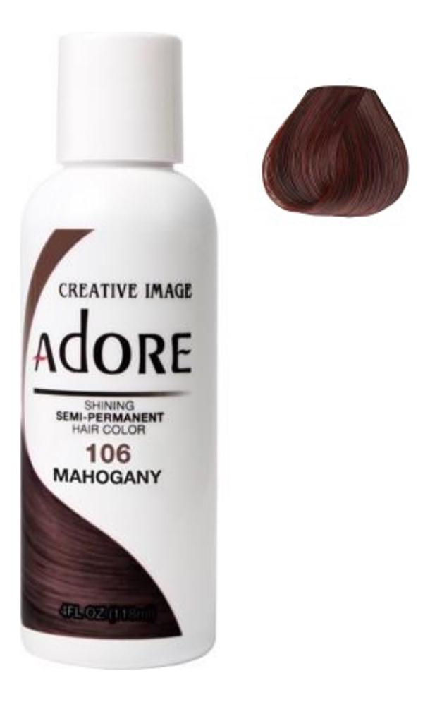 Купить Краска для волос Adore Hair Color 118мл: 106 Mahogany, Creative Image Systems