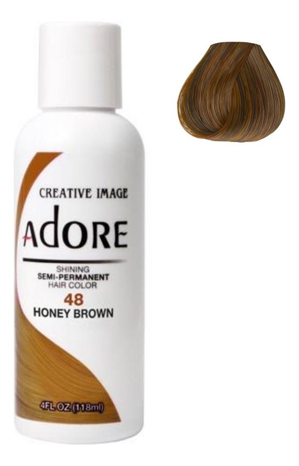 Краска для волос Adore Hair Color 118мл: 48 Honey Brown