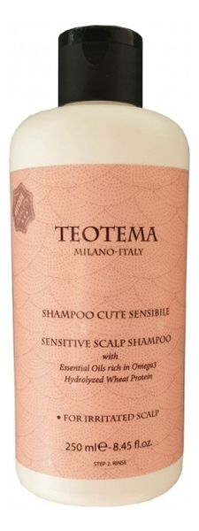 Купить Шампунь для чувствительной кожи головы Sensitive Scalp Shampoo: Шампунь 250мл, Teotema