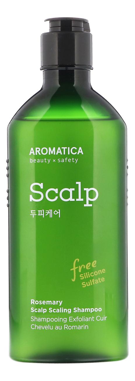 Купить Шампунь для укрепления волос с экстрактом розмарина Rosemary Scalp Scaling Shampoo: Шампунь 250мл, AROMATICA