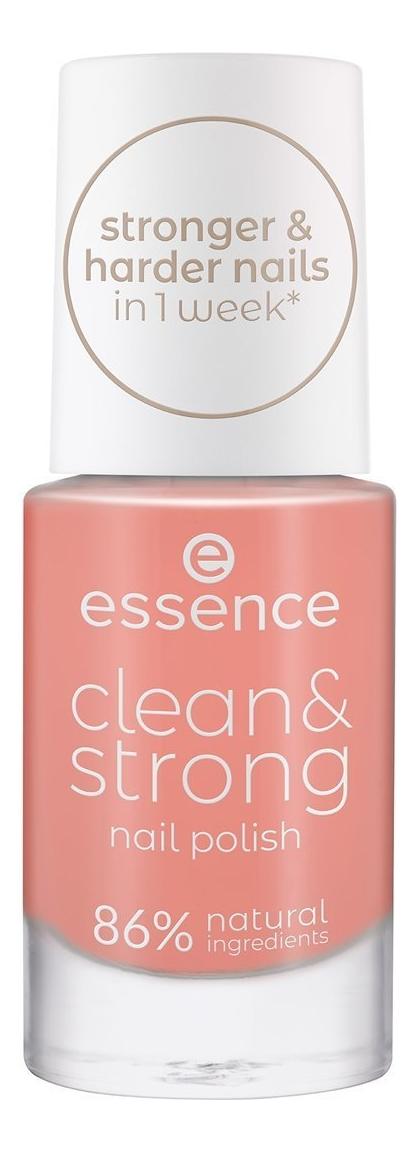 Купить Лак для ногтей Clean & Strong 8мл: 04 Brisk Dawn, Лак для ногтей Clean & Strong 8мл, essence
