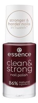 Купить Лак для ногтей Clean & Strong 8мл: 06 Vibrant Magma, Лак для ногтей Clean & Strong 8мл, essence