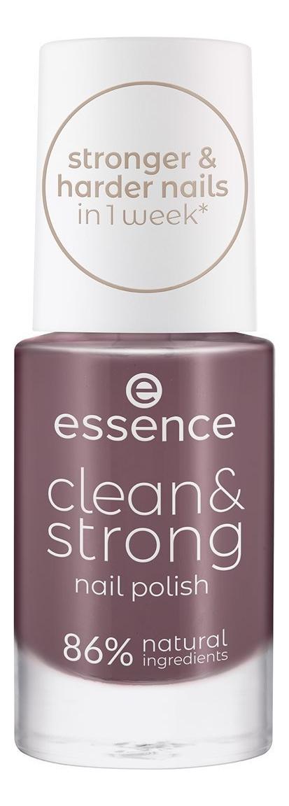 Купить Лак для ногтей Clean & Strong 8мл: 07 Juicy Terra, Лак для ногтей Clean & Strong 8мл, essence
