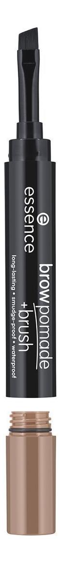 Помада для бровей с кисточкой Brow pomade + Brush 1,2г: 01 Blonde карандаш помада для бровей brow pomade 3 25г 02 chatain