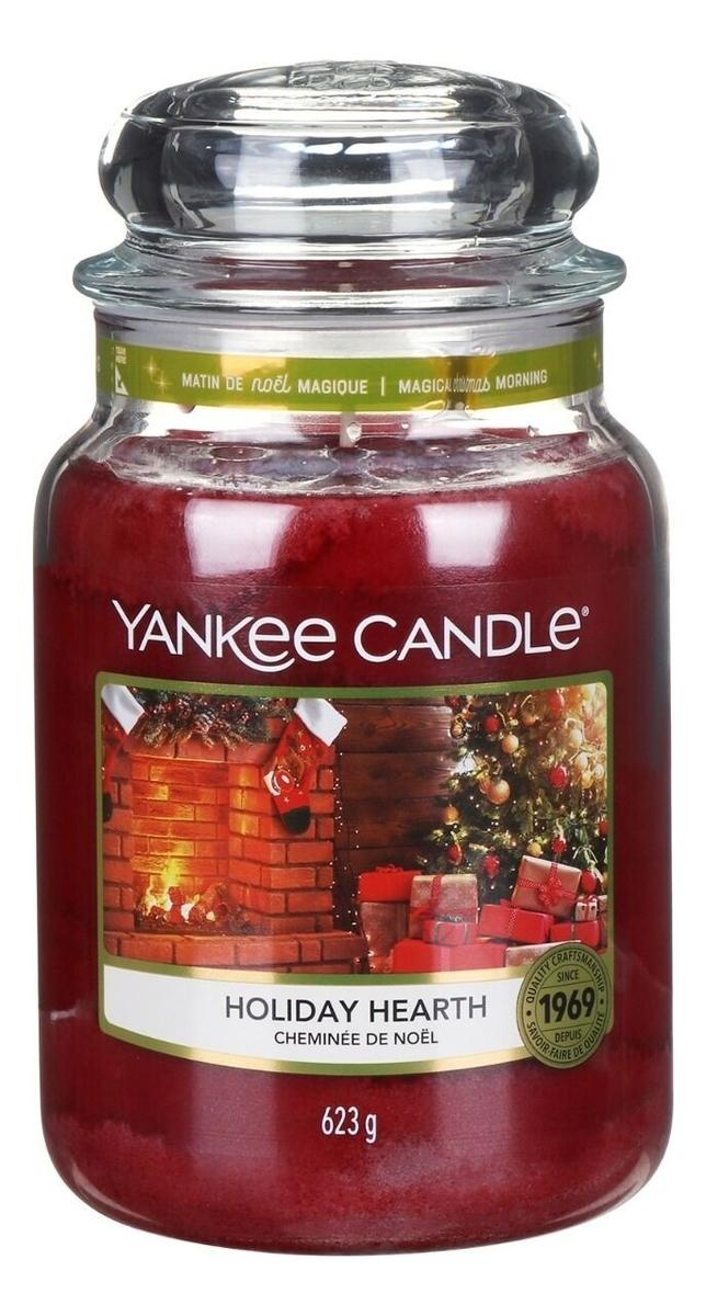 Фото - Ароматическая свеча Holiday Hearth: Свеча 623г ароматическая свеча игристое вино свеча 70г