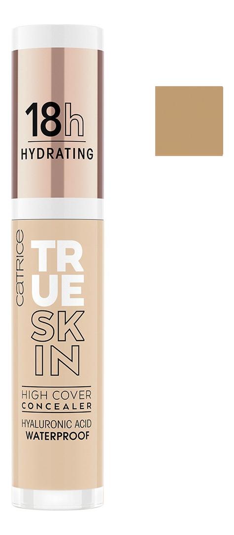 увлажняющий консилер для лица amazing cosmetics amazing concealer hydrate 2 26 мл Консилер для лица True Skin High Cover Concealer 4,5мл: 020 Warm Beige