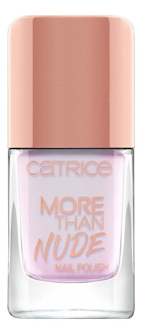 Купить Лак для ногтей More Than Nude Nail Polish 10, 5мл: 11 Shine Lavenderous!, Catrice Cosmetics