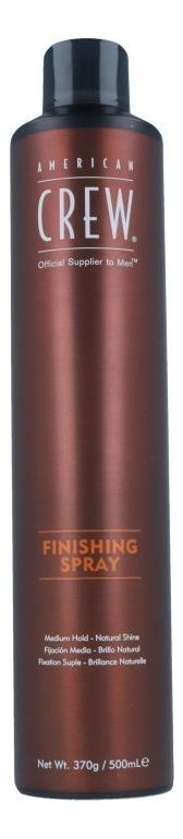 Купить Финишный спрей для волос с защитой от влаги Finishing Spray: Спрей 500мл, American Crew