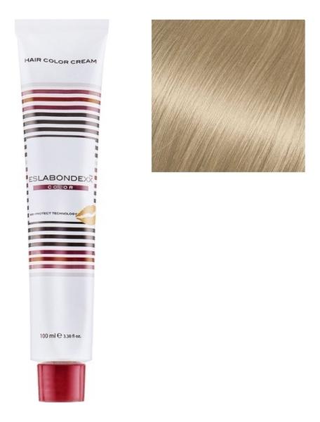 Купить Крем-краска для волос Color 100мл: 913 Ультра светлый холодный бежевый блондин, ESLABONDEXX