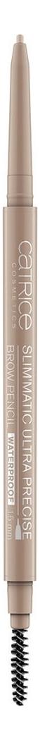Купить Карандаш для бровей Slim'Matic Ultra Precise Brow Pencil Waterproof 0, 05г: 015 Ash Blonde, Catrice Cosmetics