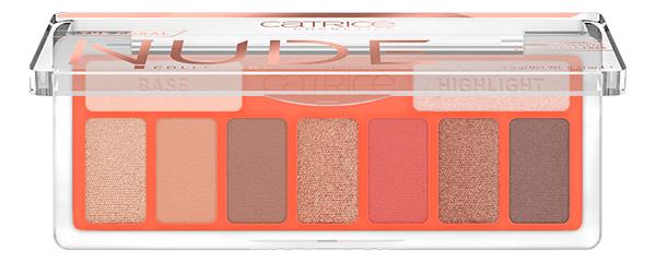 Палетка теней The Coral Nude Collection Eyeshadow Palette: 010 Peach Passion недорого