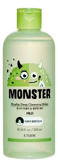 Купить Мицеллярная вода для лица Monster Micellar Deep Cleansing Water Mild 300мл, Etude House