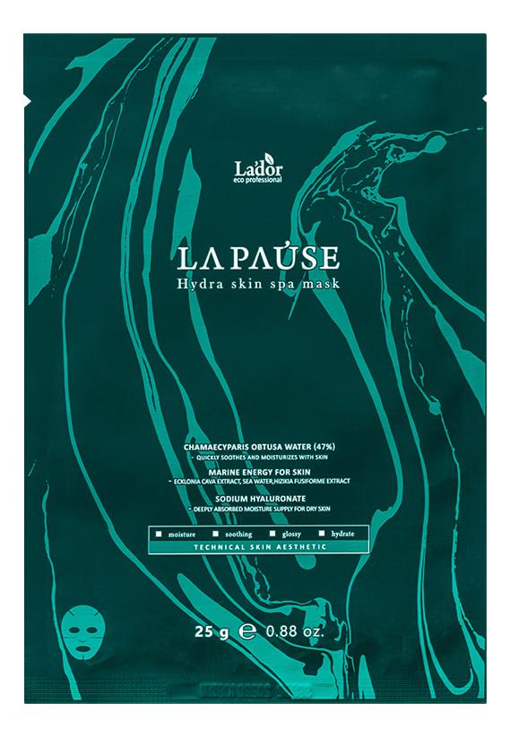 Купить Тканевая маска для лица La Pause Hydra Skin Spa Mask 25г: Маска 1шт, La`dor