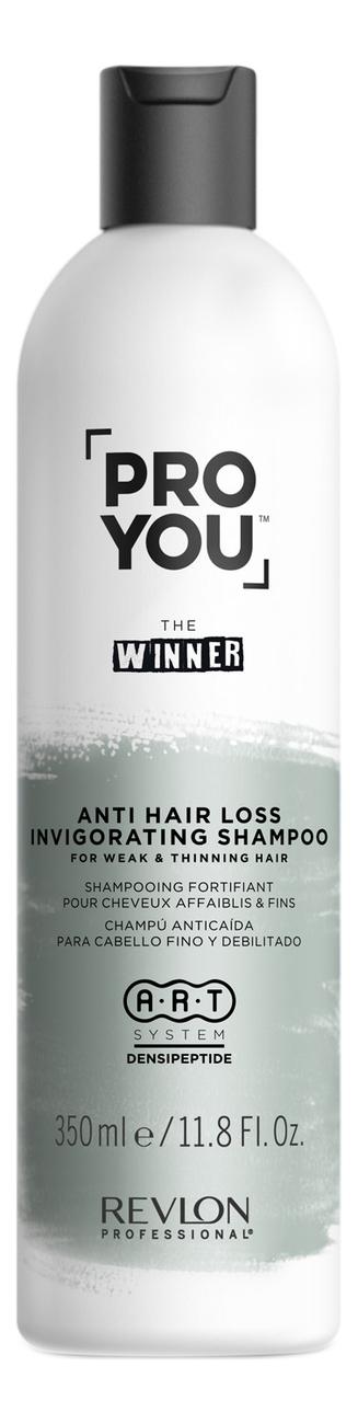 Купить Укрепляющий шампунь для ослабленных и истонченных волос Pro You The Winner Anti-hair Loss Shampoo Invigorating Shampoo: Шампунь 350мл, Revlon Professional