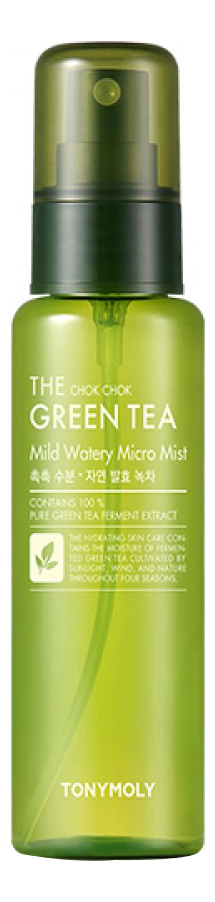 Мист для лица с экстрактом зеленого чая The Chok Chok Green Tea Mild Watery Micro Mist 50мл недорого
