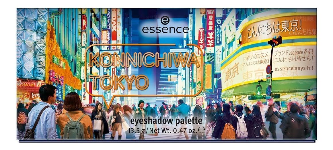Палетка теней для век Eyeshadow palette Konnichiwa Tokyo 13,5г