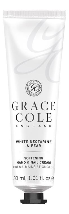 Купить Крем для рук Белый нектарин и груша White Nectarine & Pear Softening Hand & Nail Cream 30мл, Крем для рук Белый нектарин и груша White Nectarine & Pear Softening Hand & Nail Cream 30мл, Grace Cole