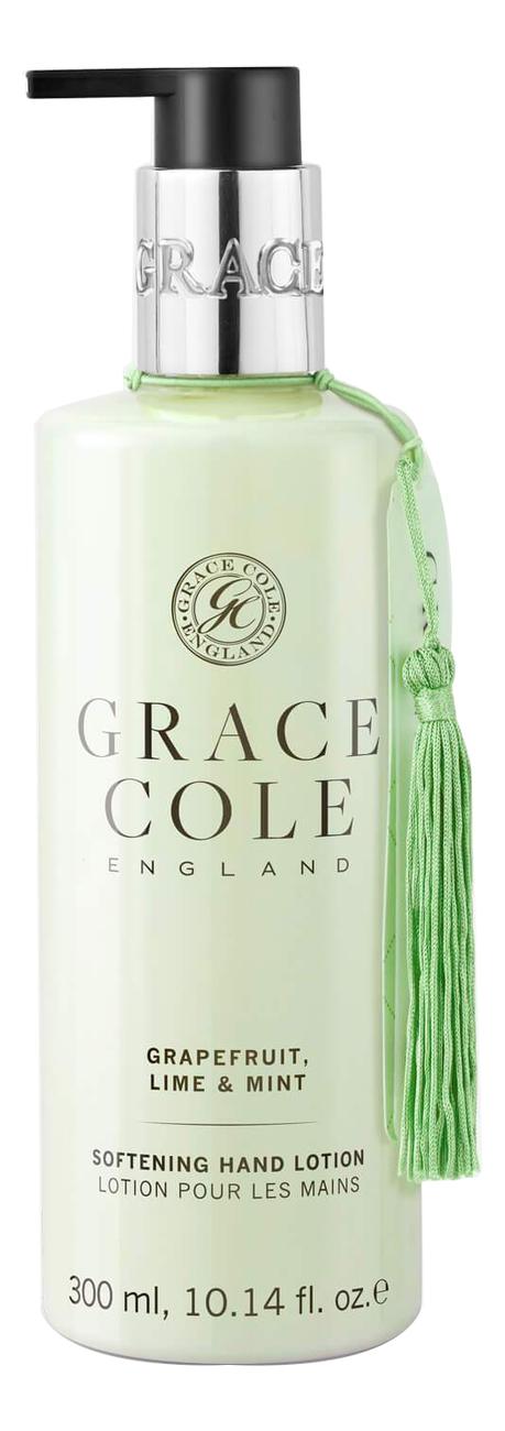 Купить Лосьон для рук Грейпфрут, лайм и мята Grapefruit Lime & Mint Softening Hand Lotion 300мл, лайм и мята Grapefruit Lime & Mint Softening Hand Lotion 300мл, Grace Cole