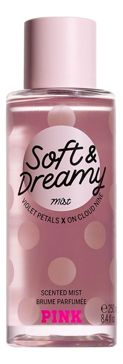 Парфюмерный спрей для тела Pink Soft & Dreamy Body Mist: Спрей 250мл парфюмерный спрей для тела coconut passion body mist спрей 75мл