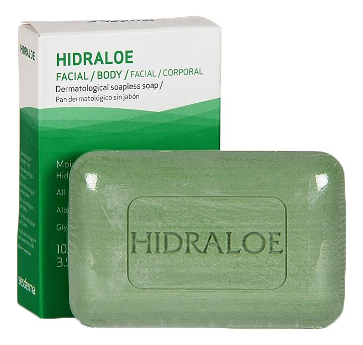 Купить Дерматологическое мыло лица и тела Hidraloe Dermatological Soapless Soap 100г, Sesderma
