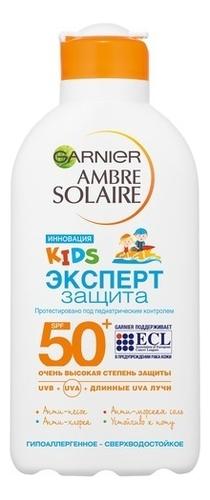 Водостойкое солнцезащитное молочко Эксперт защита Ambre Solaire Kids SPF50+ 200мл недорого