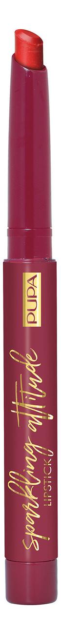 Губная помада с матовым финишем Sparkling Attitude Matt Effect Lipstick 1,2г: No 001 недорого