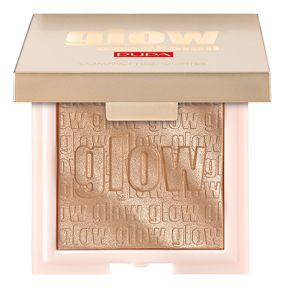Компактный хайлайтер для лица Glow Obsession Compact Highlighter 6г: 002 Rose Gold кремовый хайлайтер для лица peko jjang melti jelly highlighter 6г no 01