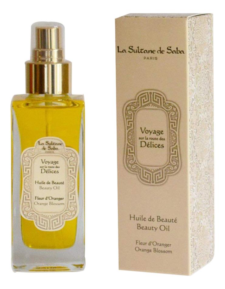 Купить Voyage Sur La Route Des Delices Fleur D'Oranger: масло для тела 100мл, Fleur D`Oranger, La Sultane de Saba
