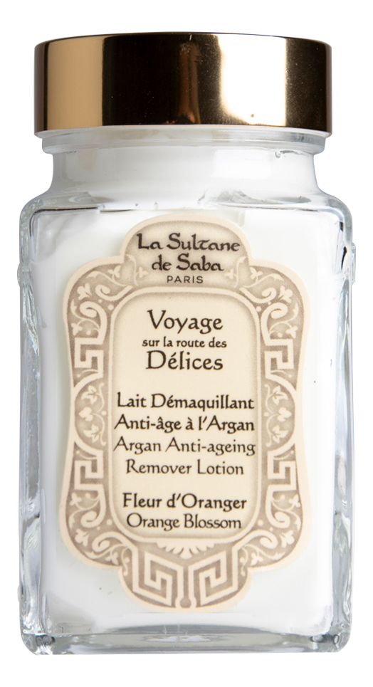 Купить Voyage Sur La Route Des Delices Fleur D'Oranger: очищающее молочко для снятия макияжа 100мл, Fleur D`Oranger, La Sultane de Saba