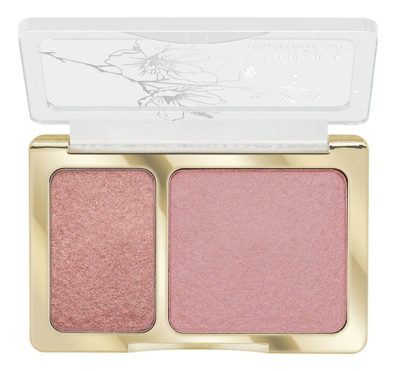 Купить Румяна для лица 2 в 1 Glow In Bloom Monochromatic Blush & Glow 6, 3г: C02 Rose Duet, Румяна для лица 2 в 1 Glow In Bloom Monochromatic Blush & Glow 6, 3г, Catrice Cosmetics