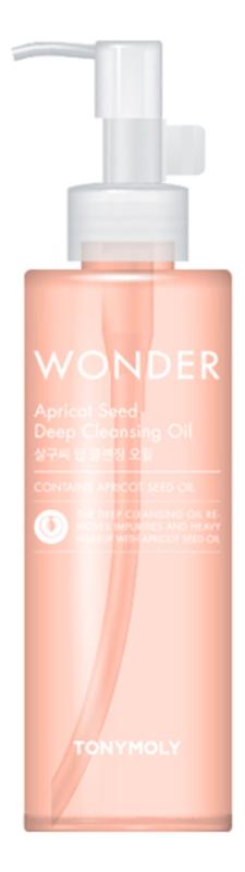 Купить Гидрофильное масло для умывания с экстрактом абрикосовых косточек Wonder Apricot Deep Cleansing Oil 190мл, Tony Moly