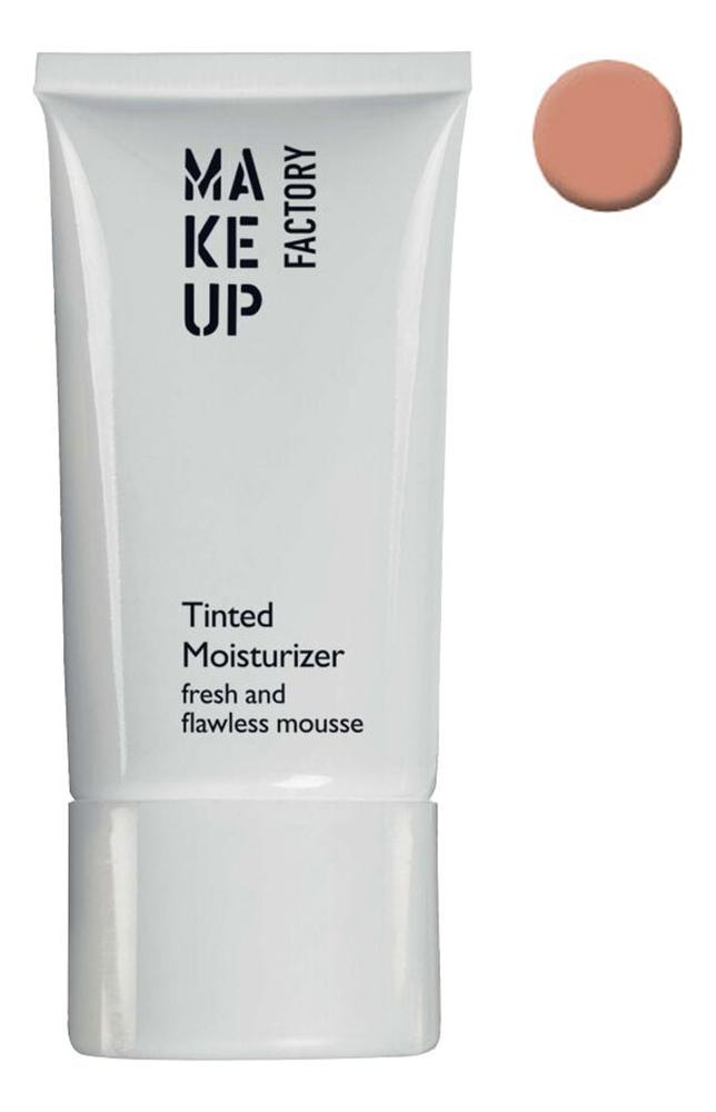 Купить Увлажняющий тональный крем с охлаждающим эффектом Tinted Moisturizer 30мл: 7 Темный миндальный, MAKE UP FACTORY